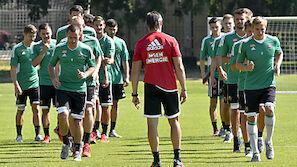 Rapid-Coach Djuricin plant Schnitt nach Trainingslager