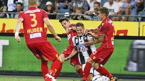 Last-Minute-Elfer bescherte Sturm 3:2-Sieg über St. Pölten