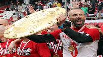 Salzburg erhielt den Teller - Rose feierte mit Liegestützen