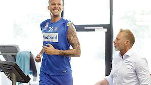 Holzhauser vor Austrias Europacupstart