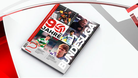Bundesliga-Journal: Die 90er-Jahre-Spezialausgabe – ab sofort im Handel
