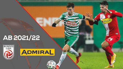 ADMIRAL wird neuer Bewerbssponsor der Bundesliga & 2. Liga