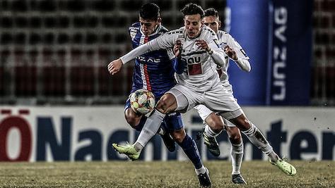 0:2-Heimniederlage von Blau Weiß Linz gegen Wr. Neustadt
