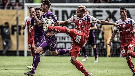 Klagenfurt behauptete 2.-Liga-Führung mit 3:1 gegen BW Linz
