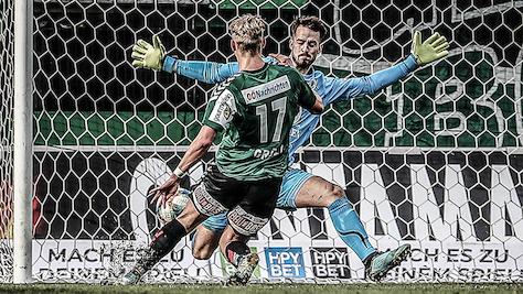 Ried nach 5:0-Erfolg in Dornbirn Winterkönig in 2. Liga
