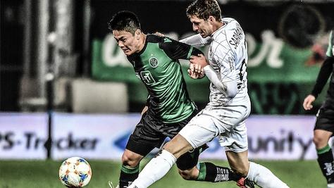 Klagenfurt und Ried in 2. Liga weiter im Gleichschritt