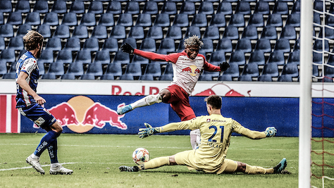 Liefering überholte Blau-Weiß Linz in 2. Liga mit 5:1-Sieg