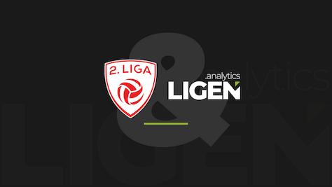 LIGEN .analytics bleibt offizieller Spielanalyse-Partner der 2. Liga