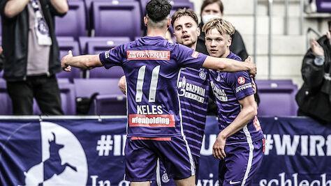 Sieg zum 2. Liga-Schluss für Young Violets: 4:0 gegen Steyr