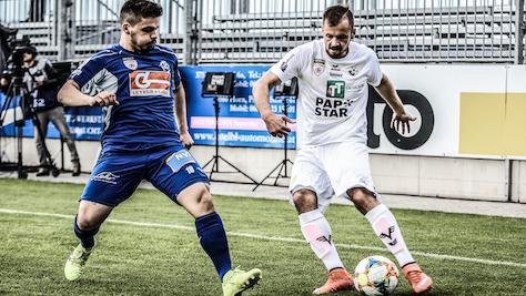 3:1 in Horn - Wattens zog mit Auswärtssieg in Bundesliga ein