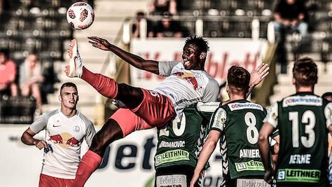 Ried nach 3:0 gegen zehn Lieferinger an Zweite-Liga-Spitze