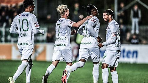Lustenau baute Tabellenführung mit 2:1-Sieg in Steyr aus