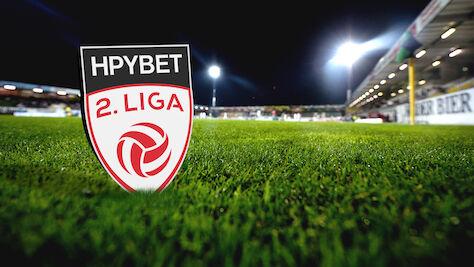 Die Spieltermine und ersten Livespiele der HPYBET 2. Liga 2019/20