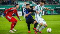 Rapid verliert gegen minimalistisches Inter mit 0:1