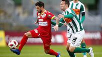 2:0 - Mattersburg verpatzte Popovic-Trainerdebüt