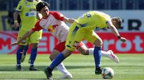 Salzburg holte in St. Pölten in Unterzahl ein 1:1
