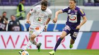 Austria wahrte mit 2:0 gegen WAC Chance auf Platz drei