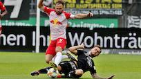 Sturm nach 1:2 gegen Salzburg aus Liga-Rennen um Platz drei