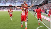 Salzburg zelebrierte Meisterfeier mit 7:0 gegen St. Pölten