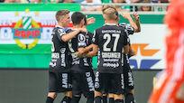 Last-Minute-2:1-Sieg des LASK in ruppigem Schlager bei Rapid