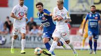 Austria gegen Hartberg nur 2:2 - Zwei Eigentore, 1 Mal Rot