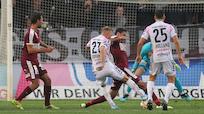 LASK schoss sich mit 7:2-Sieg über Mattersburg für PSV warm