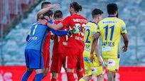 St. Pölten nach 0:2 bei Admira tief im Abstiegskampf