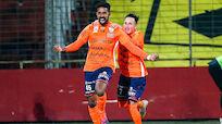 Hartberg drehte 0:2 bei Admira noch zum Sieg