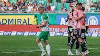 Rapid verpatzte Ligastart mit 0:2-Niederlage gegen Hartberg