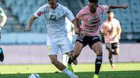 WSG Tirol erkämpfte in Unterzahl 2:2 gegen Hartberg