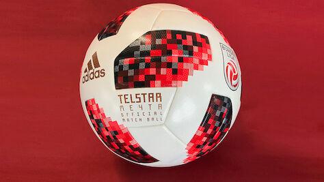 """Mit dem weltmeisterlichen Ligaball """"Telstar Mechta"""" von adidas in die neue Bundesliga-Saison"""