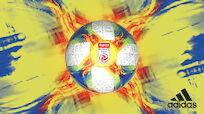 Der neue adidas-Ligaball bringt Farbe ins Spiel