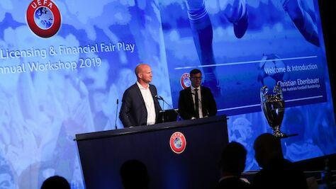 UEFA-Lizenzworkshop in Wien