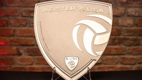 Neue Meistertrophäe der HPYBET 2. Liga präsentiert
