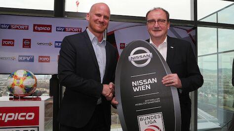 Nachhaltigkeit und Eleganz - NISSAN WIEN wird Mobilitätspartner der Österreichischen Fußball-Bundesliga