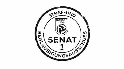 Urteile: Strafsenat der Österreichischen Fußball-Bundesliga