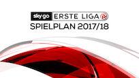 Spielplan für die Sky Go Erste Liga 2017/18