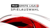 Spielauswahl für die 14. & 15. Runde der Sky Go Ersten Liga