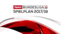 Spielplan für die Tipico Bundesliga 2017/18