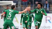 Lustenau nach 2:1-Sieg 17 Punkte hinter Leader LASK