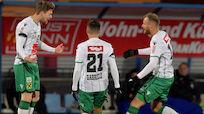 Wacker Innsbruck nach 2:0 in Hartberg Gewinner der Runde