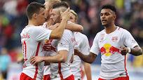 Salzburg baute Ligaführung mit 5:0-Sieg gegen Austria aus