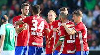 Später Doppelschlag brachte Rapid 3:1 in Mattersburg