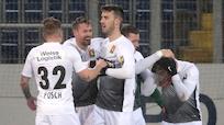 Admira rettete in Unterzahl 2:1-Sieg in St. Pölten