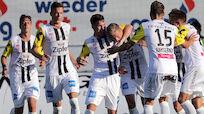 Rückkehrer LASK besiegte Admira bei 3:0-Auftaktheimsieg