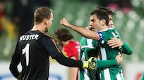 Malic köpfelte Mattersburg im Finish zu 1:0 gegen Altach