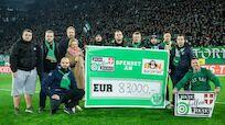 SK Rapid: Fans spenden 83.000 Euro!