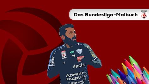 #BundesligaTeamwork: Das Malbuch
